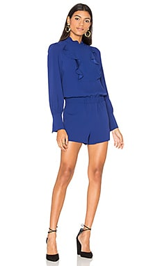Aimee Romper in Deep Royal Blue