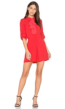 Joleen Romper in Red Berry