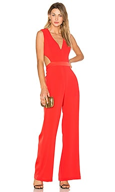 Malgosia Jumpsuit in Bright Poppy