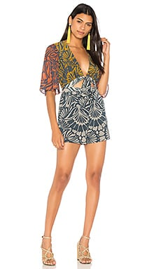 Blocked Romper