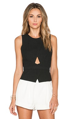 BCBGMAXAZRIA Elley Tank in Black