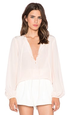 BCBGMAXAZRIA Evanna Top in Peach Blush