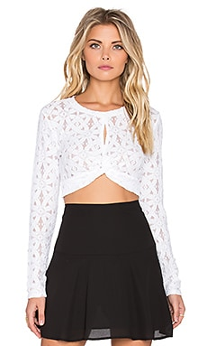 BCBGMAXAZRIA Taelor Top in White