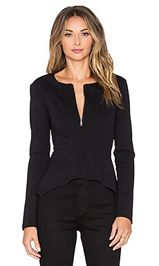 BCBGMAXAZRIA Jaynie Top in Black