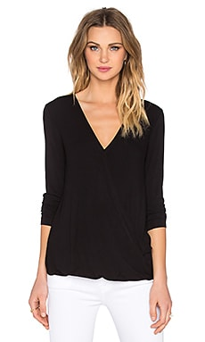 BCBGMAXAZRIA Cathryn Top in Black