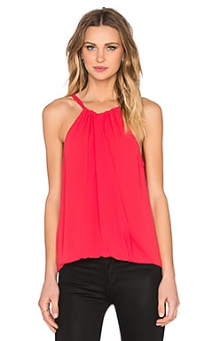 BCBGMAXAZRIA Christine Tank in Lipstick Red
