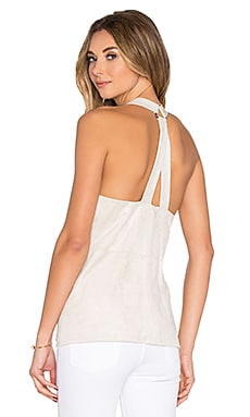 BCBGMAXAZRIA T Back Tank in Canvas