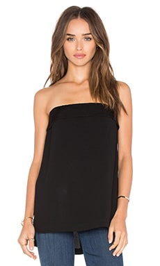 BCBGMAXAZRIA Lea Strapless Top in Black