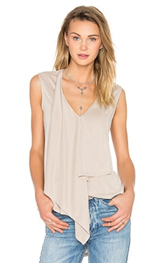Cyprien Flowy Tank in Vintage Light Stone