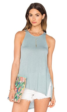 Lainie Tank in Blue Frost