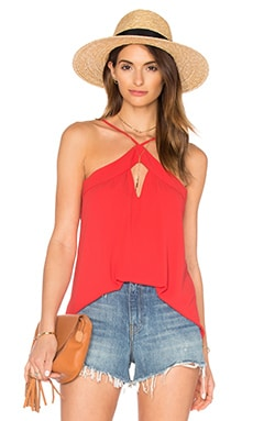 BCBGMAXAZRIA Veronicka Tank in BT Poppy