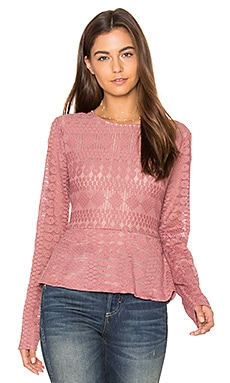 Michelle Top in Sepia Rose