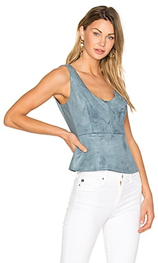 Cladiana Tank in Light Ash Blue