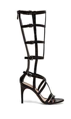 Pike Gladiator Heels in Black