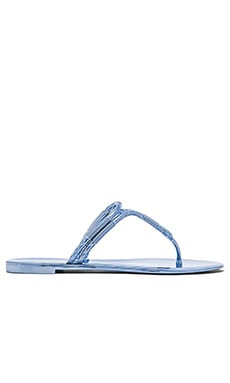 BCBGMAXAZRIA Feld Sandal in Light Chambray