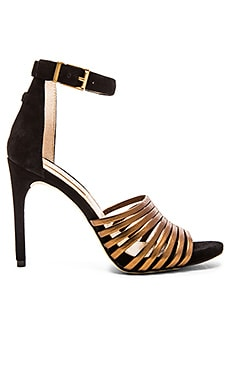 BCBGMAXAZRIA Dena Heel in Bronze & Black