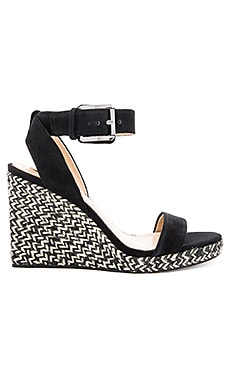 Lola Wedge in Black