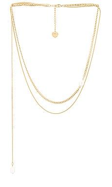 Ivy Layered Pearl Necklace BRACHA $75