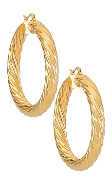 Milan Large Hoops BRACHA $31