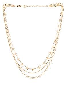 Cosmos Star Layered Necklace BRACHA $70 BEST SELLER