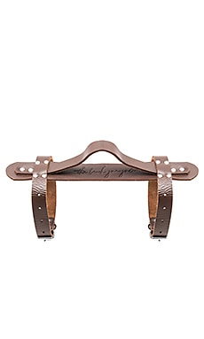 The Beach People Leather Strap in Brown