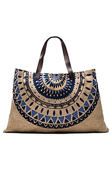 The Beach People Jute Majorelle Bag in Natural