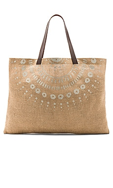 BOLSO TOTE JUTE WATEGOS The Beach People $24