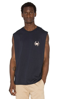 Barney Cools Crab Muscle in Navy