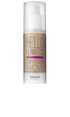 HELLO FLAWLESS! OXYGEN WOW 리퀴드 파운데이션 Benefit Cosmetics $25
