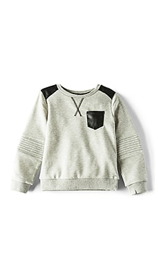 Moto Patch Sweater