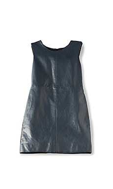 Gwen Leatherette Dress