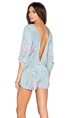 Beach Bunny Just Beachy Romper in Multi