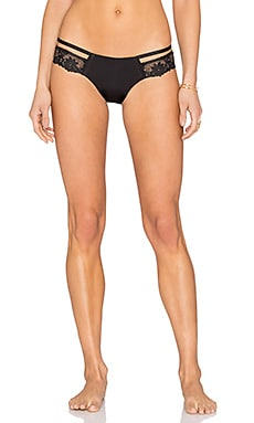 Seven Seas Skimpy Bottom in Black