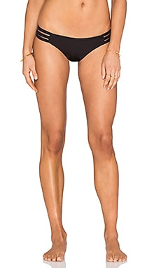 Beach Bunny Sheer Addiction Tango Bottom in Black