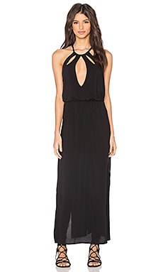 Beach Bunny On The Horizon Maxi Dress in Black