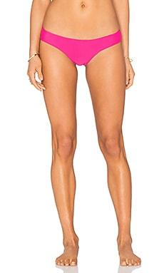 Beach Bunny Bunny Basics Tango Bottom in Fuchsia