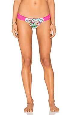 Beach Bunny Hot Tropic Lace Bottom in Floral