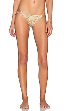 Beach Bunny Gunpowder & Lace Bottom in Bronze