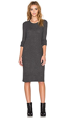 Beautiful People Midi Dress in Charcoal