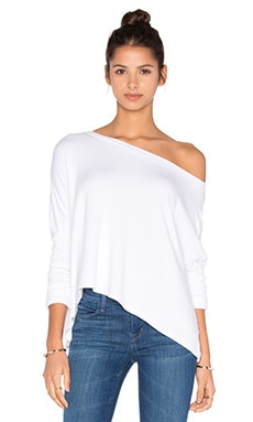 Beautiful People Off The Shoulder Long Sleeve Pullover in White