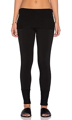 Beautiful People Supersoft Fleece Pant in Black