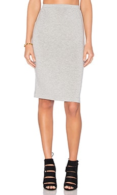 Pencil Skirt in Grey