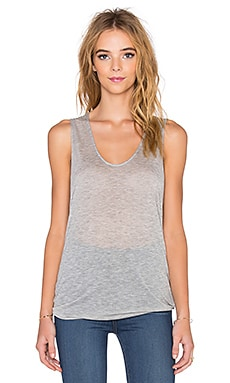 Beautiful People Hi Low Tank in Heather Grey