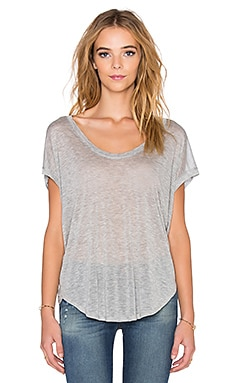 Beautiful People Dolman Tee in Heather Grey