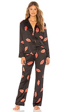 Купить Пижамный набор beau - BLUEBELLA черного цвета
