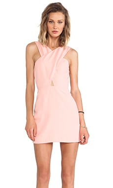BEC&BRIDGE Honour Cut Out Dress in Peach