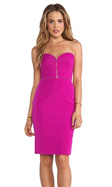 Argon Bustier Dress in Pink