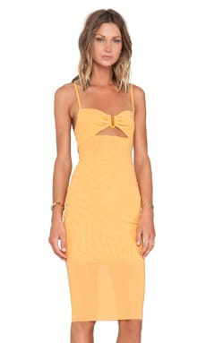 BEC&BRIDGE Sunset Dress in Papaya
