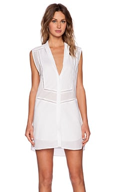 BEC&BRIDGE Ophelia Shirt Dress in White