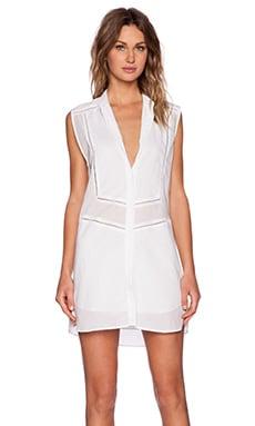 BEC&BRIDGE Ophelia Shirt Dress in White